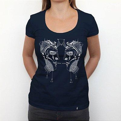 Pink Floyd - Camiseta Clássica Feminina