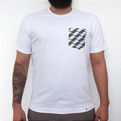Piso São Paulo - Camiseta Clássica com Bolso Masculina