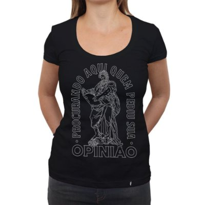 Procurando Aqui - Camiseta Clássica Feminina