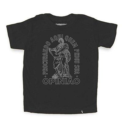 Procurando Aqui - Camiseta Clássica Infantil