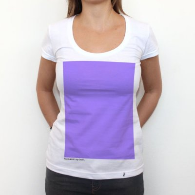 Purple Haze - Camiseta Clássica Feminina