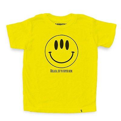 Relaxa, To Super Bem - Camiseta Clássica Infantil