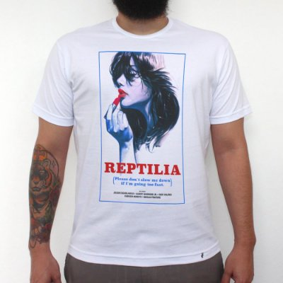 Reptilia - Camiseta Clássica Masculina