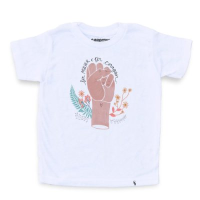 Ser Mulher É Ter Coragem - Camiseta Clássica Infantil