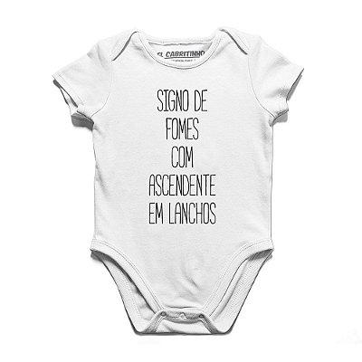 Signo de Fomes - Body Infantil