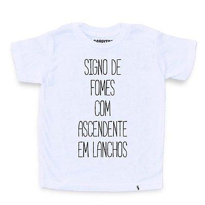 Signo de Fomes - Camiseta Clássica Infantil