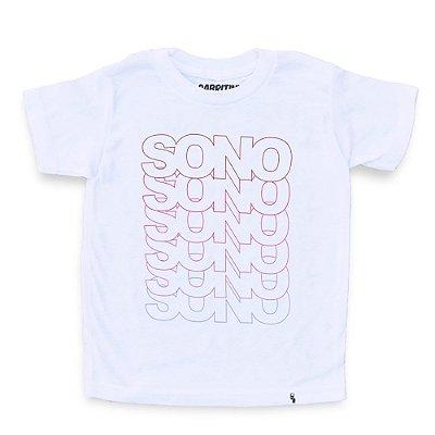 Sono Sono Sono Sono - Camiseta Clássica Infantil