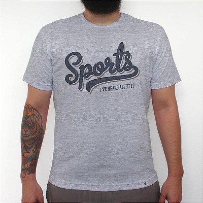 Sports - Camiseta Clássica Masculina