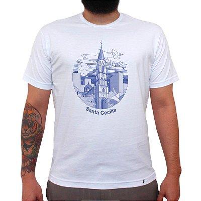 Sta Cecilia - Camiseta Clássica Masculina