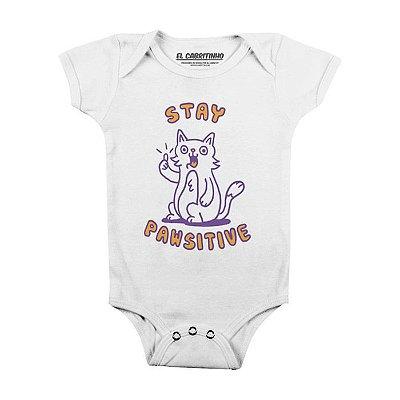 Stay Pawsitive - Body Infantil