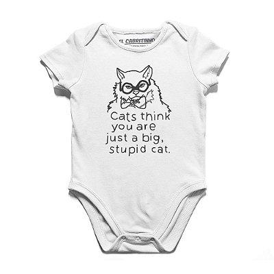 Stupid Cat - Body Infantil