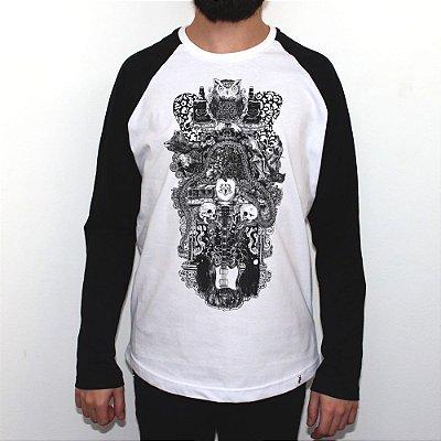 Sublevação - Camiseta Raglan Manga Longa Masculina