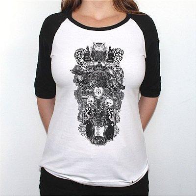 Sublevação - Camiseta Raglan Manga ¾  Feminina