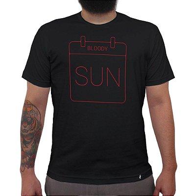 Sunday Blood Sunday - Camiseta Clássica Masculina