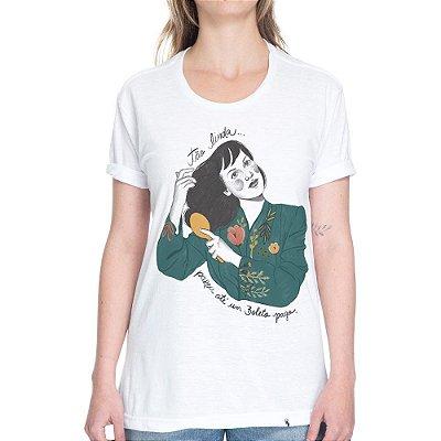 Tão Linda Que Até Parece Um Boleto Pago - Camiseta Basicona Unissex