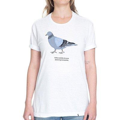 Tenho Saudade da Rua #cestabasica - Camiseta Basicona Unissex