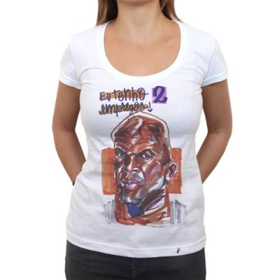 Terry Crews - Camiseta Clássica Feminina