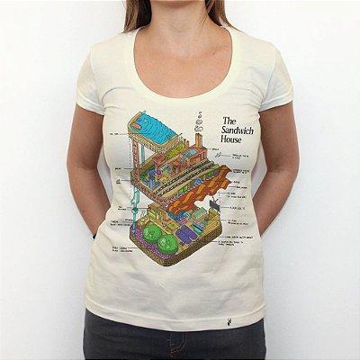 The Sandwich House - Camiseta Clássica Feminina