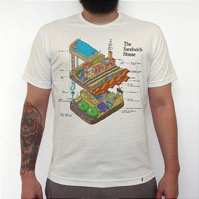 The Sandwich House - Camiseta Clássica Masculina