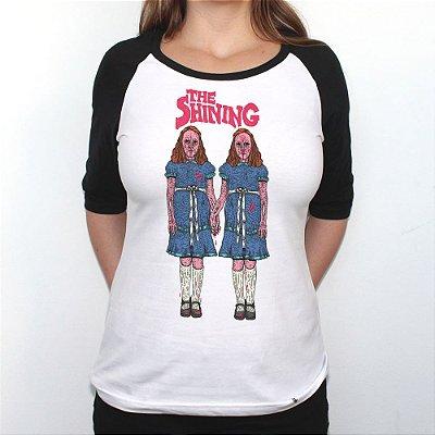 The Shining - Camiseta Raglan Manga Longa Feminina