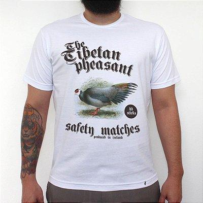 The Tibetan Pheasant - Camiseta Clássica Masculina