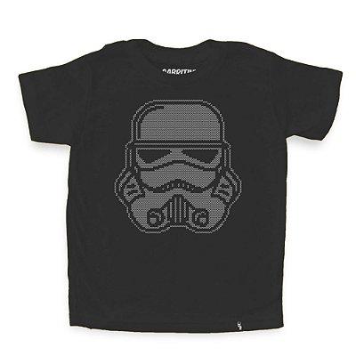 Trooper Bordado - Camiseta Clássica Infantil