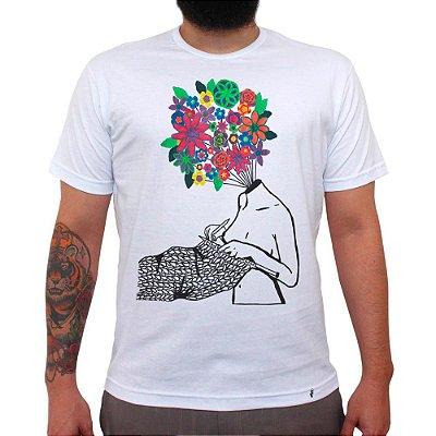 Tudo São Flores - Camiseta Clássica Masculina