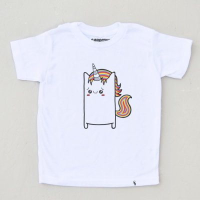 Uni Cuti Córnio - Camiseta Clássica Infantil