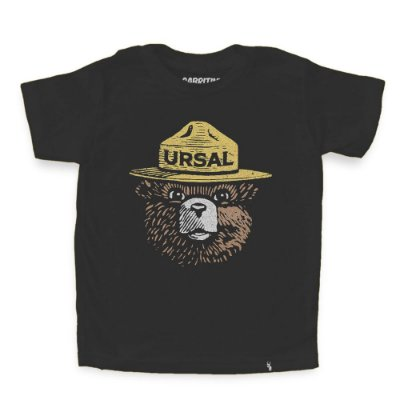 Urso URSAL - Camiseta Clássica Infantil