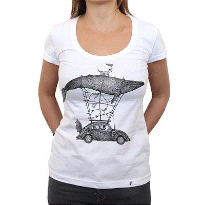 Viajantes - Camiseta Clássica Feminina