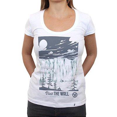 Visit The Wall - Camiseta Clássica Feminina