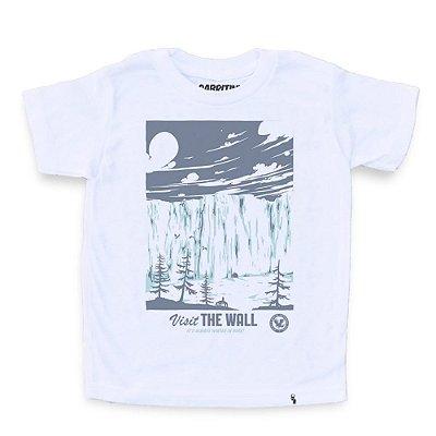 Visit The Wall - Camiseta Clássica Infantil