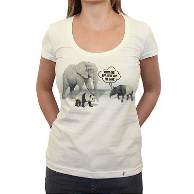 We are One - Camiseta Clássica Feminina