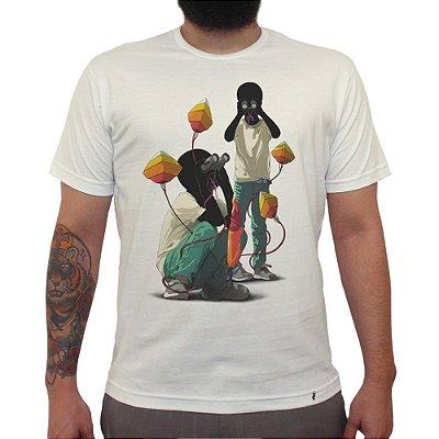 Where - Camiseta Clássica Masculina