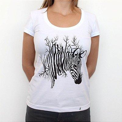 Zebrarvore - Camiseta Clássica Feminina