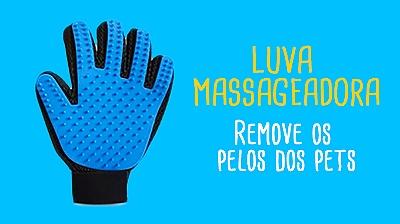 Luva Massageadora Pets