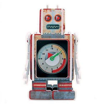 Relógio de Mesa - Robot