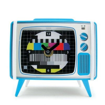 Relógio de Mesa - TV Retrô