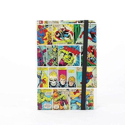 Caderno de Anotações HQ Colorido - Marvel