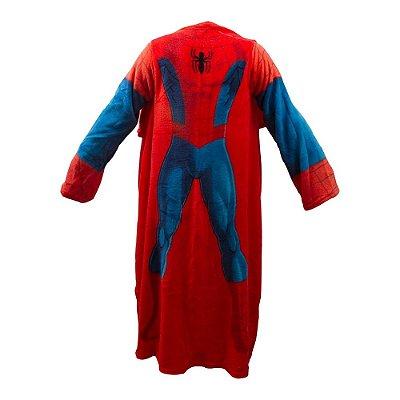 Cobertor com Mangas Marvel - Homem-Aranha