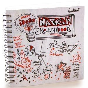 Caderno Guardanapo - Para Anotações de Idéias Geniais (Napkin Sketchbook)