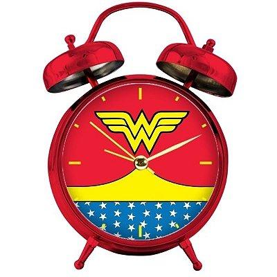 Relógio de Mesa/Despertador DC Comics - Mulher-Maravilha