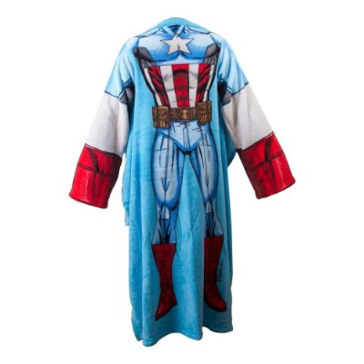 Cobertor com Mangas Marvel - Capitão América
