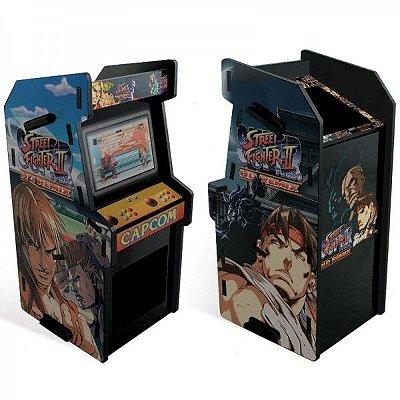 Porta Trecos Arcade Preto II HD Remix