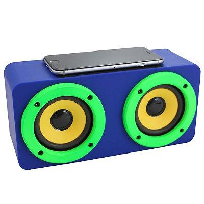 Amplificador Speaker por Indução Sem Fio
