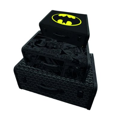 Set com 3 Maletas DC Comics- Batman