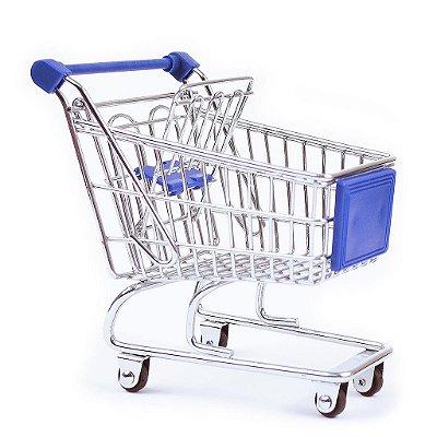 Mini Carrinho de Compras - Porta Trecos