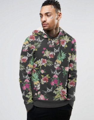 Moletom, Floral