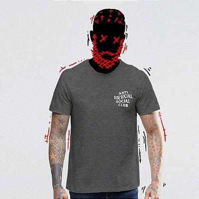 Camiseta, Anti Rede Social Social Club Frente e Costas