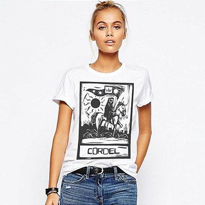 Camiseta Feminina, Morte no Cordel